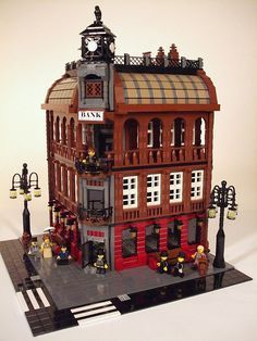 Modular building Lego MOC. Really nice.