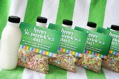 A fun treat for the kids on St Patty's Day