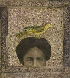 Betye Saar, Woman With Bird In Her Hair, 2010.