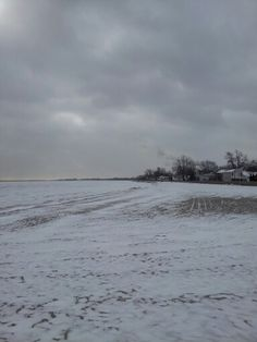 The beach on a cold December afternoon