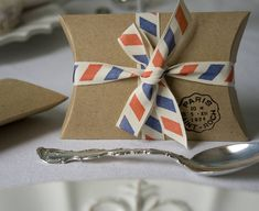 Set Of Ten Rustic Pillow Boxes  by Wedding in a Teacup