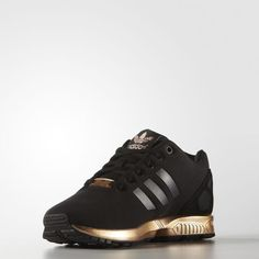 Adidas Zx Flux Adv Black And Gold