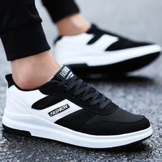 f7217904c5824 Wedge Platform Men s Vulcanize Shoes shallow breathable superstar brand  sneakers height increasing 2018 new spring.