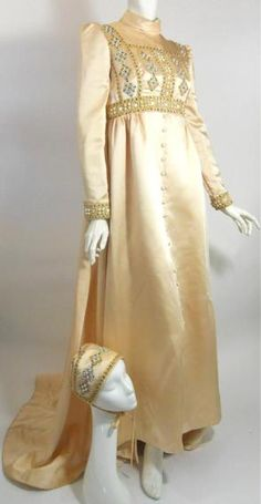 60s vintage gown