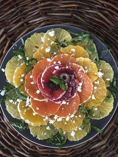 A dish a day : Jan 12 - Four Citrus salad