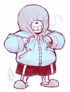 Another random idea I had that I needed to draw into a comic. If Sans can fall asleep while standing up, who's to say he doesn't have trouble with sleep walking from time to time?  This is bas...