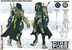 Check out a mass of different Infinity art for their newest undertaking, Dire Foes! Game Character Design, Character Sheet, Character Concept, Character Art, Concept Art, Infinity Art, Infinity The Game, Gi Joe, Sci Fi Armor