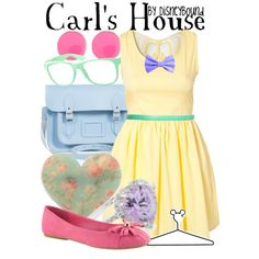"""Carl's House"" by lalakay on Polyvore"