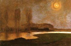 """""""Summer Night"""" in 1906-07 by Piet Mondrian"""