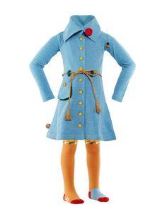 Vestido niña de 4 Funky Flavours - Royals