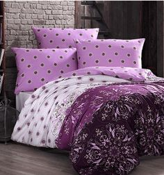 Bavlnené obliečky - ALBERICA VIOLET Comforters, Blanket, Bed, Pink, Home, Creature Comforts, Quilts, Stream Bed, Ad Home