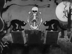 Silly symphony - The skeleton dance. http://weezic.com/blog/2012/06/18/la-musique-classique-ca-cartoone/