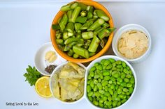 Eating Local in the Lou: Search results for Asparagus, Edamame & Artichoke Salad