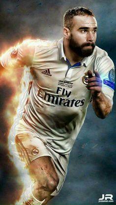 Dani carvajal First Football, Football Love, Best Football Players, Soccer Players, Real Madrid Football, Real Madrid Players, Rafael Nadal, Equipe Real Madrid, Real Madrid Wallpapers
