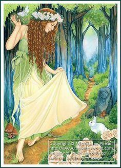 """""""Ostara Maiden* by Michele-lee Phelan"""