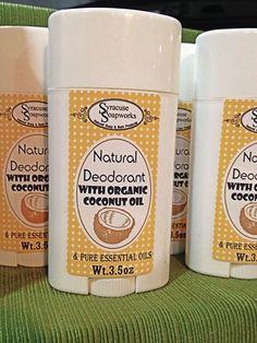 All natural deodorant, no aluminum, no parabens, no artificial fragrances