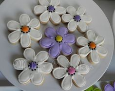 Spring cookies ♥♥ by MilysCupcakes, via Flickr