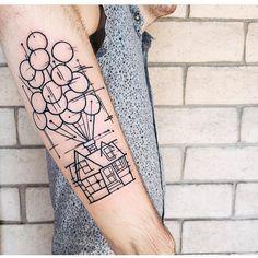 geometrical up house