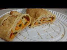 Pan Pichón relleno de jamón y Queso (Campechano) - YouTube Relleno, Tacos, Mexican, Ethnic Recipes, Youtube, Food, Ham And Cheese, Health And Wellness, Essen