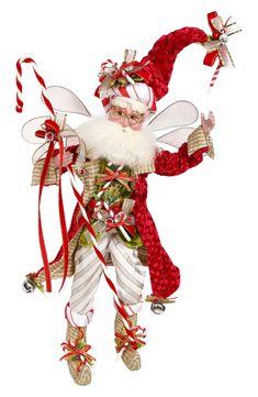Mark Roberts Christmas Fairies at Fiddlesticks Whimsical Christmas Trees, Candy Cane Christmas Tree, Christmas Fairy, Outdoor Christmas Decorations, Vintage Christmas, Christmas Wreaths, Christmas Crafts, Christmas Ornaments, Holiday Decor