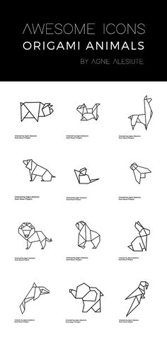 Free geometric animals- Awesome!!