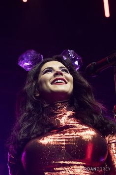 https://flic.kr/p/zSd6SC | Marina and the Diamonds | The Neon Nature Tour at House of Blues Boston.