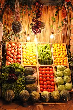 Check out local farmers market Dallas locations that. Vegetable Shop, Vegetable Stand, Vegetable Platters, Produce Displays, Fruit Displays, Store Displays, Grace Farms, Fruit Shop, Fruit Stands