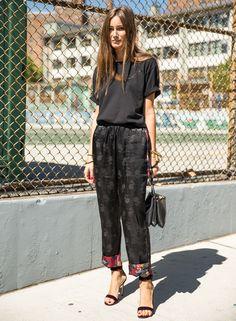Giorgia Tordini black t-shirt