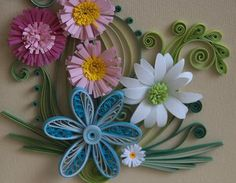 Neli Beneva is a quilling artist from Bulgaria. She is known for her amazing paper quilling patterns and beautiful craft. Paper Quilling Flowers, Quilling Work, Neli Quilling, Paper Quilling Patterns, Quilling Paper Craft, Quilling Cards, Paper Flowers Diy, Flower Cards, Paper Crafts