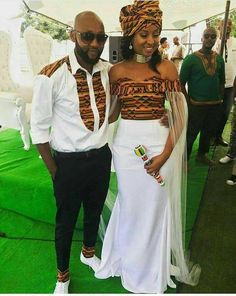 Couple outfit/dashiki prom dress/wedding gown/African fashion/African men's fashion/African women's