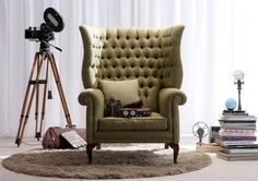 Fauteuil chesterfield Kingdom
