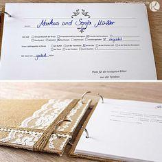 Juhu ihr Lieben, heute möchte ich euch mein DIY-Gästebuch für unsere Hochzeit zeigen. Komischerweise war dieses Proje...