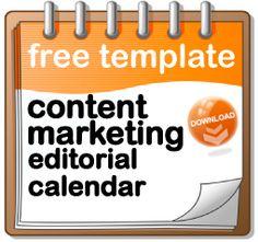 content marketing editorial calendar Content Marketing Editorial Calendar Template 2014