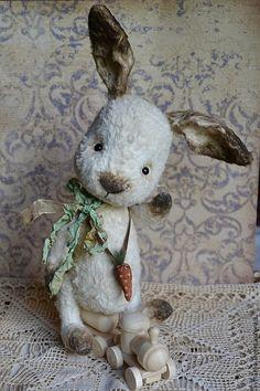 Купить Зайка тедди Фостик - белый, заяц, заяц тедди, Заяц в подарок, зайка, зайчик