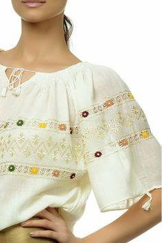 Ie Traditionala Romaneasca Maneca Scurta Motivul Campie cu guler se poate numi CAMIGEA- camesa-  http://www.youtube.com/watch?v=lPyiW_16_nc