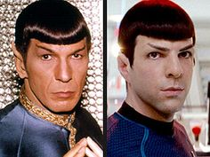 PEOPLE has a very logical discussion with the Vulcan stars about meeting each other, rabid fans and bad haircuts