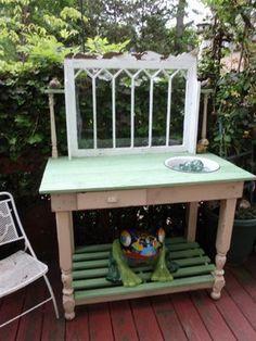 potting bench....
