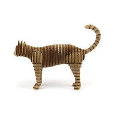 Cardboard Animal Kit, Cat