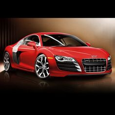 Totally Awesome R8! Shiny Shiny Red!!!