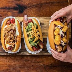 Get game-day inspiration from these eight fancy hot dogs we love.