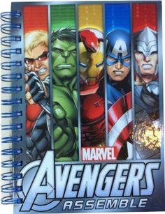 Marvel Avengers A5 hardback notebook brand new
