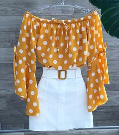 Dress Pesta, High Waisted Skirt, Bell Sleeve Top, Crop Tops, Shorts, Blouse, Womens Fashion, Pattern, Outfits