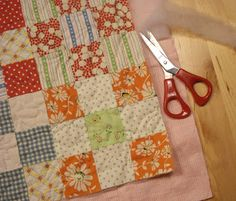 cats & quilts: Self binding