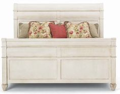 HW-235-22 Hickory White American Home King Sleigh Bed