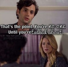 The ultimate gossip girl quote season 6 people, EEEKKKK Tv Show Quotes, Movie Quotes, I'm Chuck Bass, Gossip Girl Quotes, Blair Waldorf, Nate Archibald, Amazing Quotes, Pretty Little Liars, Wise Words
