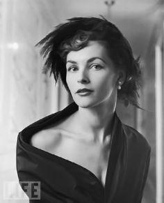 Model Georgia Hamilton, 1948