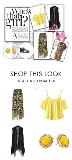 """""""Untitled #3165"""" by empathetic ❤ liked on Polyvore featuring Alice + Olivia, Chicnova Fashion and Kate Spade"""