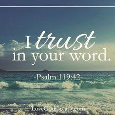 #LoveGodGreatly #Psalm119 Week 2- Thursday Read: Psalm 119:41-48