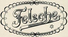 Poster stamp for candy manufacturer (Felsche-Schokolade) by Otto Arpke. 1930