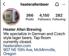 Oregon Road Trip, Lager Beer, Tap Room, Brewing